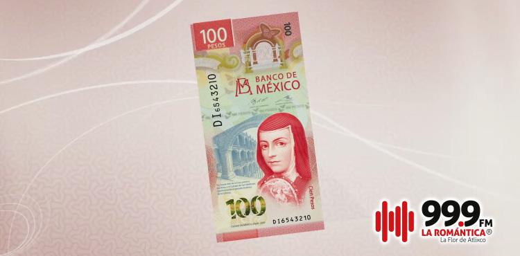 Nuevo billete de 100 pesos México